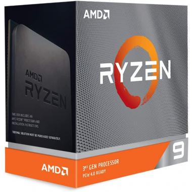 AMD Ryzen™ 9 3900XT 24 Thread Processor (4.7 GHz Max Boost, 3.8 GHz Base)