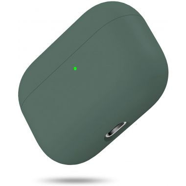 Liquid Silicone Case for Apple AirPods Pro - Midnight Green