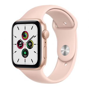 Apple Watch SE (GPS, 40mm) - Gold Aluminium with Pink Sand Sports Band