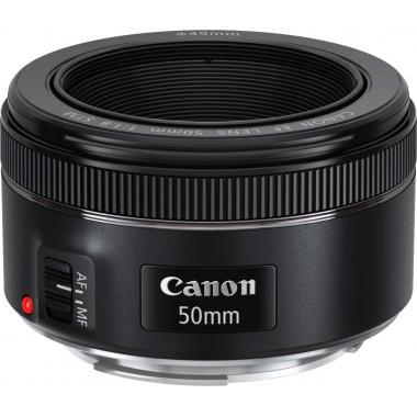 Canon EF 50 mm f/1.8 STM Standard Prime Lens Black