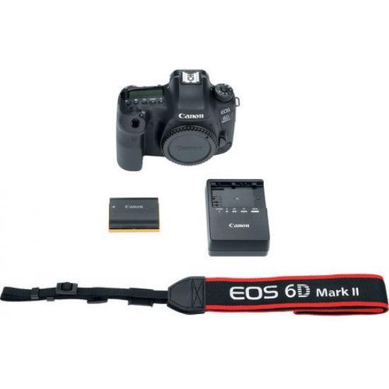 Canon EOS 6D Mark II DSLR Camera - Body Only