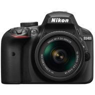 Nikon D3400 - 24.2 MP SLR Camera, AF-P 18 - 55mm f/3.5 - 5.6G VR Lens, Black