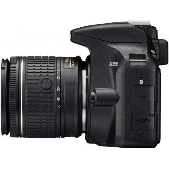 Nikon D3500 DSLR Camera with AF-P DX NIKKOR 18-55 mm f/3.5-5.6G VR Lens