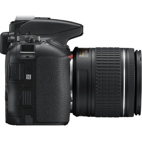 NIKON D5600 DSLR Camera with DX 18-55 mm f/3.5-5.6G VR Lens