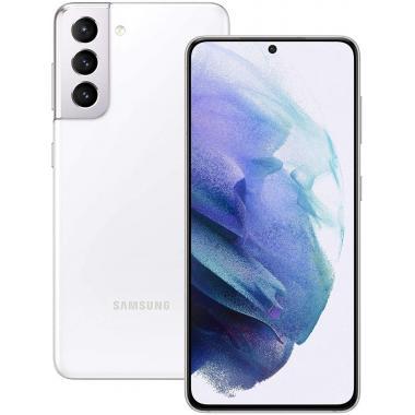 Samsung Galaxy S21 (8GB +128GB, 5G Dual Sim) - Phantom White