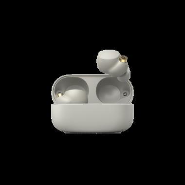 Sony WF-1000XM4 True Wireless Noise Cancelling Headphones - Silver