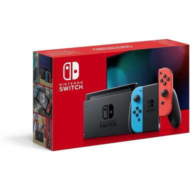 Nintendo Switch Console - Neon Red / Neon blue (Latest Model)