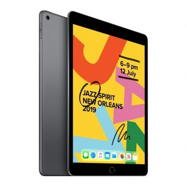Apple iPad 7th Generation (10.2-inch, Wi-Fi, 128GB) - Space Grey (2019 Model)