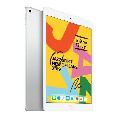 Apple iPad 7th Generation (10.2-inch, Wi-Fi, 128GB) - Silver (2019 Model)