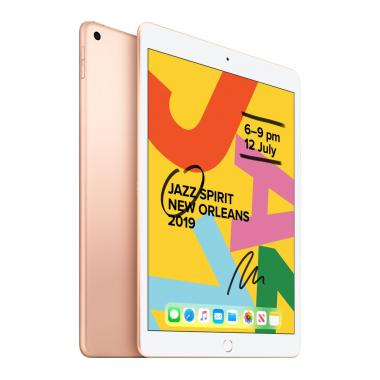 Apple iPad 7th Generation (10.2-inch, Wi-Fi, 32GB) - Gold (2019 Model)