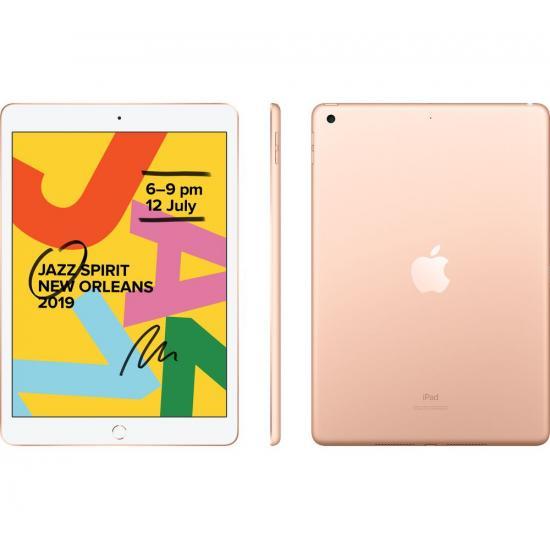 Apple iPad 7th Generation (10.2-inch, Wi-Fi, 32GB) - Gold (2019 Model)