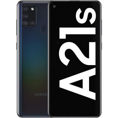 Samsung Galaxy A21s (3GB + 32GB, Dual Sim) - Black