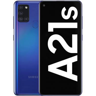 Samsung Galaxy A21s (3GB + 32GB, Dual Sim) - Blue