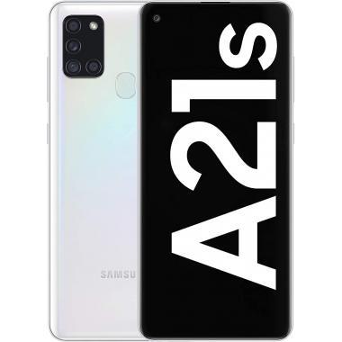 Samsung Galaxy A21s (3GB + 32GB, Dual Sim) - White