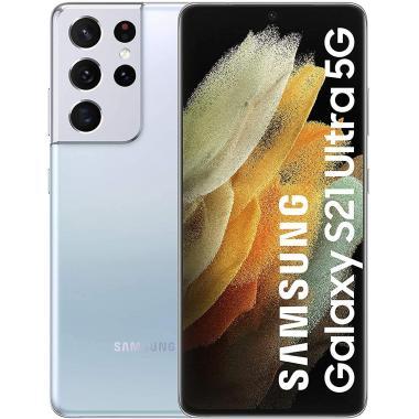 Samsung Galaxy S21 Ultra 5G (12GB + 128GB, Dual Sim) - Phantom Silver