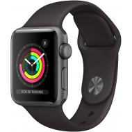 Apple Watch Series 3 (GPS, 38mm) - Space Grey Aluminium Case with Black Sport Band